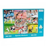 Puzzle  The-House-of-Puzzles-3916 Pièces XXL - Sports Mixture