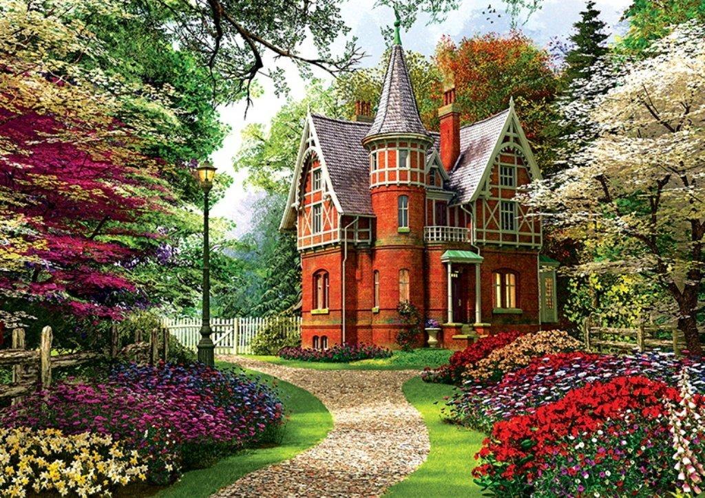 Puzzle davison maison victorienne trefl 10355 1000 pi ces puzzles campagn - La maison victorienne ...