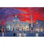 Puzzle  Trefl-10172 Italie - Basilique Saint Pierre de Rome