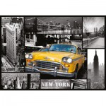 Puzzle  Trefl-10271 USA, New York : Collage