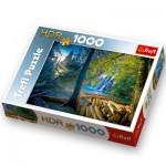 Puzzle  Trefl-10288 Forêt mystérieuse