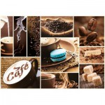 Puzzle  Trefl-10359 Café