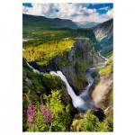 Puzzle  Trefl-10382 Chutes de Vøringsfossen, Norwegen