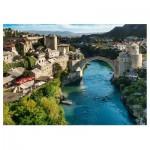 Puzzle  Trefl-10383 Mostar, Bosnie-Herzégovine