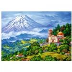 Puzzle  Trefl-10431 Volcan, Chili