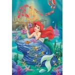 Puzzle  Trefl-13072 La petite sirène au fond de l'océan