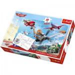Puzzle  Trefl-14406 Maxi Pièces Recto/Verso : Planes