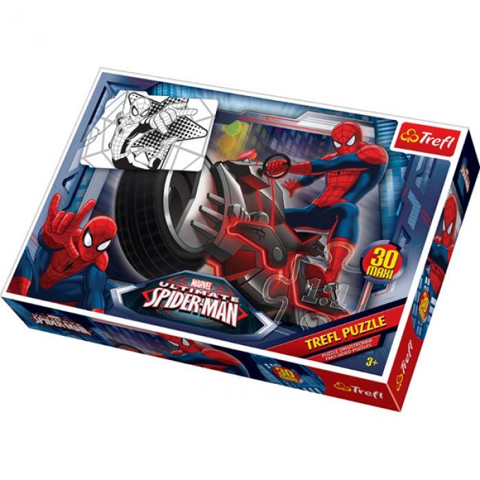 Maxi Pièces Recto/Verso : Spider-Man