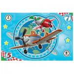 Puzzle  Trefl-14603 Pièces XXL Lumineux la Nuit - Planes