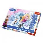 Puzzle  Trefl-14615 Magic Decor La Reine des Neiges