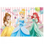 Puzzle  Trefl-14802 Pièces XXL avec Paillettes - Princesses Disney