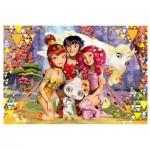 Puzzle  Trefl-16248 Mia et Moi
