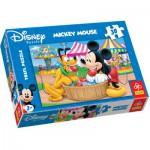 Puzzle  Trefl-18125 Mickey et ses amis : Kermesse