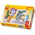 Puzzle  Trefl-18150 Tom et Jerry - Si je t'attrappe!