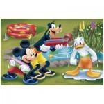 Puzzle  Trefl-19275 Mickey, Dingo et Donald s'arrosent
