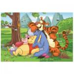 Puzzle  Trefl-19392 Winnie l'Ourson : Les 4 copains
