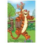 Puzzle  Trefl-19400 Winnie l'Ourson : Tigrou