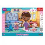 Trefl-31206 Puzzle Cadre - Disney Doc McStuffins