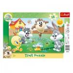 Trefl-31207 Puzzle Cadre - Looney Tunes