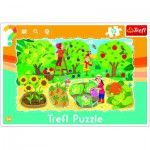 Trefl-31218 Puzzle Cadre - Potager
