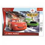 Trefl-31230 Puzzle Cadre - Cars