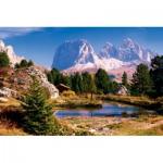 Puzzle  Trefl-33012 Italie : Les Dolomites