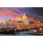 Puzzle  Trefl-33020 Italie, Venise : Basilique Sainte Marie du Salut