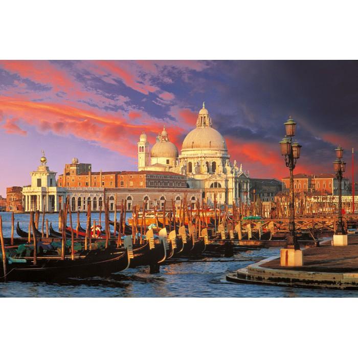 Italie, Venise : Basilique Sainte Marie du Salut