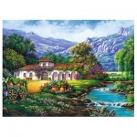 Puzzle  Trefl-33051 Hacienda