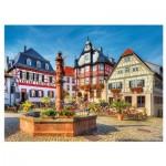 Puzzle  Trefl-33052 Place du Marché, Heppenheim
