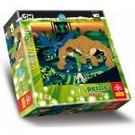Puzzle  Trefl-35642 Effet 3D : Ben 10