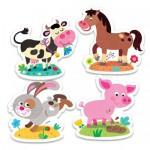 Trefl-36052 Puzzle Baby Classic : Animaux de la Ferme
