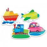 Trefl-36057 Puzzle Baby Classic : Moyens de Transport