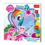Puzzle  Trefl-36118 Baby Fun - My Little Pony
