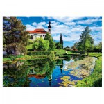 Puzzle  Trefl-37193 Lac de Chiemsee, Bavière