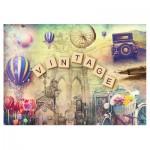 Puzzle  Trefl-37240 Vintage