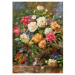 Puzzle  Trefl-45003 Fleurs pour la Reine Elisabeth