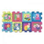 Trefl-60398 Puzzle en Mousse - Peppa Pig