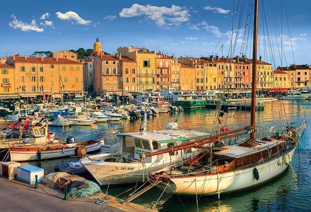 Puzzle Vieux Port 224 Saint Tropez Trefl 26130 1500 Pi 232 Ces