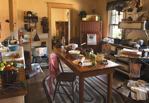 Puzzle la cuisine de ma grandm re white mountain 528 1000 pi ces puzzles d co et objets - La cuisine de grand mere angouleme ...