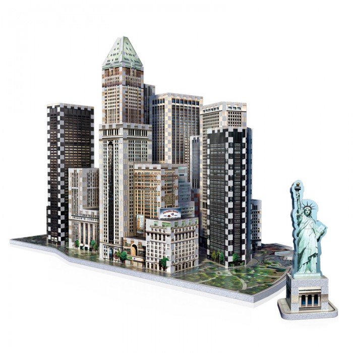 Puzzle 3D - New York Collection : Financial