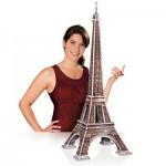 Wrebbit-3D-34509 Puzzle 3D - Paris : La Tour Eiffel