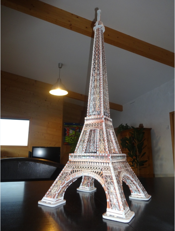 puzzle 3d paris la tour eiffel wrebbit 3d 34509 816 pi ces puzzles monuments planet 39 puzzles. Black Bedroom Furniture Sets. Home Design Ideas