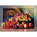 Art-Puzzle-4192 Puzzle Senteur - Corbeille de Fruits