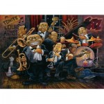 Puzzle  Art-Puzzle-4273 The Orchestra of Louis Armstrong