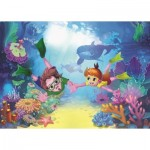 Puzzle  Art-Puzzle-4499 Pièces XXL - The Diver Kids