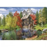 Puzzle  Art-Puzzle-4550 Near the Mill