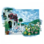 Puzzle  Art-Puzzle-5026 Beach Cafe