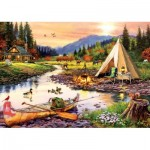 Puzzle   Camping Friends