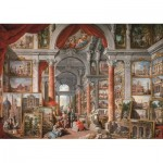 Puzzle   Gallery With Views of Modern Rome, 1757